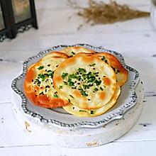 #母亲节,给妈妈做道菜#葱油饼~饺子皮版