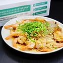 蒜蓉粉丝蒸虾#中粮我买,真实惠才是食力派#
