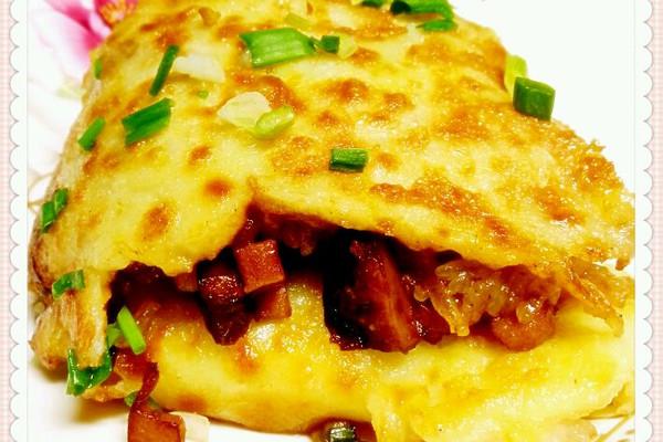 武汉三鲜豆皮的做法 武汉三鲜豆皮怎么做如何做好吃 武汉三鲜豆皮家