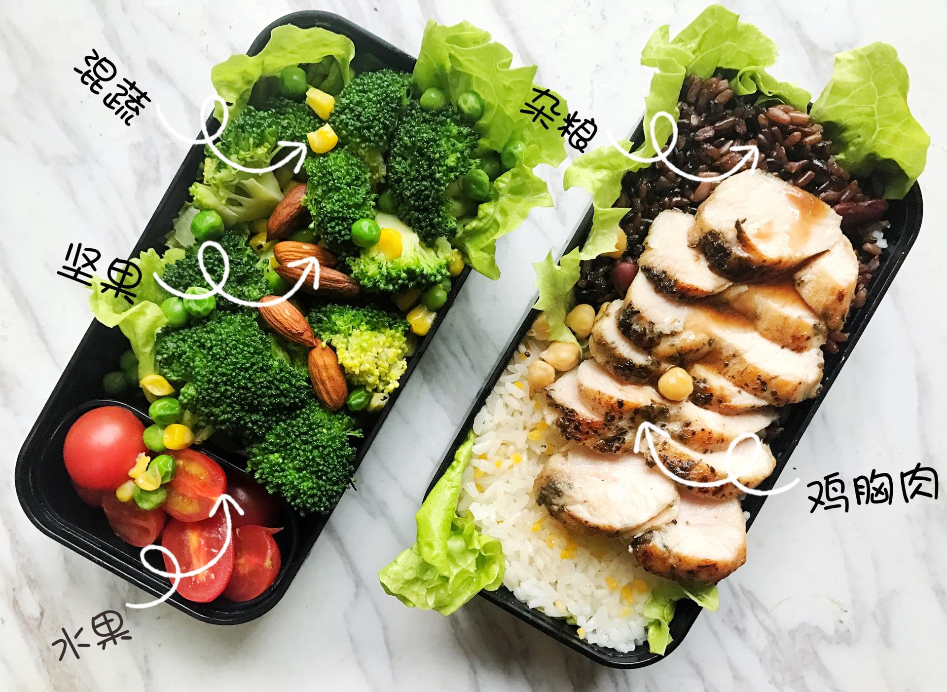 三款款减脂增肌餐粥能减肥配菜喝吗每天?图片