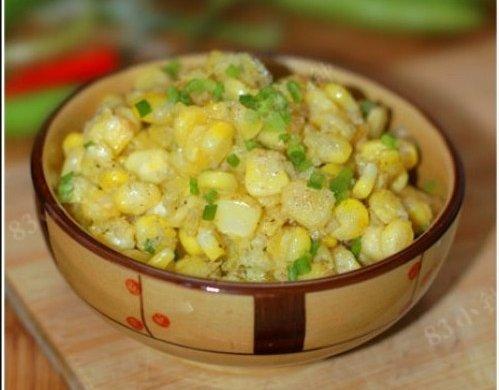 零嘴菜肴:椒盐玉米粒