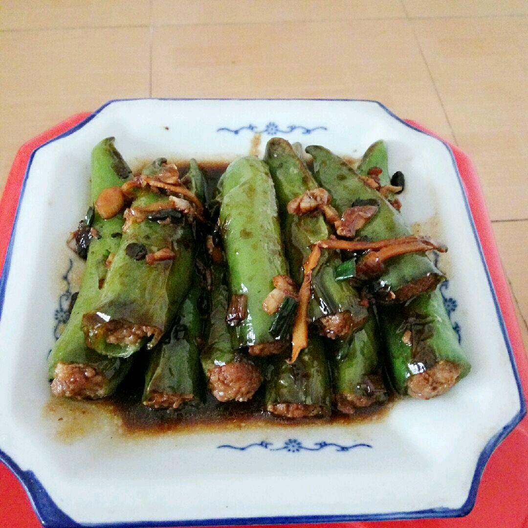 酿青椒的做法步骤