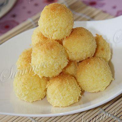 奶香椰子球
