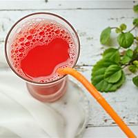 鲜榨西瓜汁的做法图解8