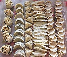 韭菜饺子馅料+云吞馅料的做法