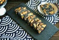 #人人能开小吃店#黑芝麻红枣养生糕的做法