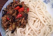 茄丁肉丁打卤面的做法