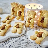 小熊扁桃仁饼干