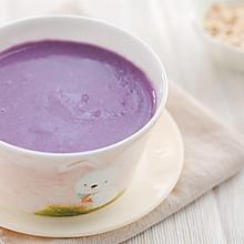 燕麦紫薯奶香米糊