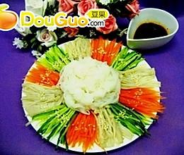 低热量的节庆冷盘 凉拌魔芋结的做法