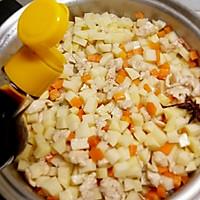 #花10分钟,做一道菜!#鸡肉土豆丁的做法图解9