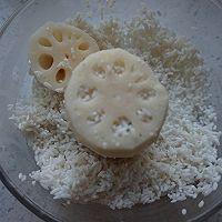 焦糖糯米藕的做法图解3