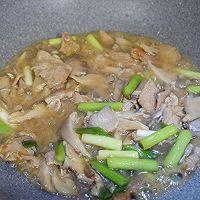 青蒜肉片炒鲜蘑的做法图解15