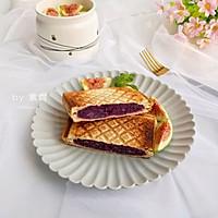 紫薯三明治的做法图解10