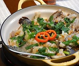 秘制广式啫啫鱼煲的做法