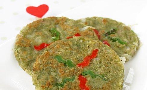 绿豆泥煎饼: 喝腻了绿豆汤?尝尝这个的做法