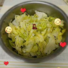 夏日最不可缺的一道菜,凉拌圆生菜