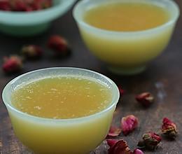 【女性食谱】玫瑰水果汤——养生活血清凉饮的做法