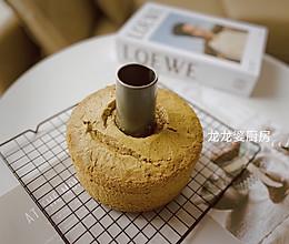 #元宵节美食大赏#【抹茶戚风蛋糕】的做法