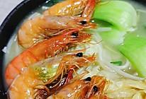 鲜虾面的做法