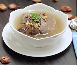 山楂麦芽猪横利汤的做法