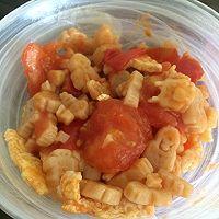 番茄蛋炒意面
