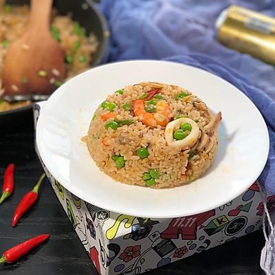 泰式辣鱼炒饭-(一人食不凑合)