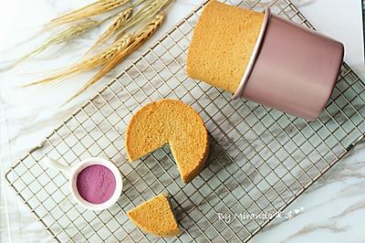迷你紫薯戚风蛋糕