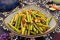 川味蒜蓉豇豆的做法