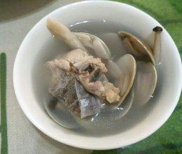 沙白排骨白菇汤的做法
