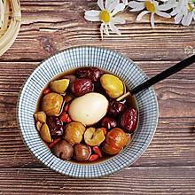 红枣栗子鸡蛋甜汤