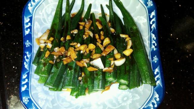 蚝油秋葵的做法