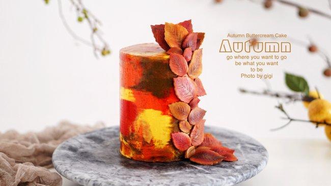 秋季法式奶油蛋糕#马卡龙·奶油蛋糕看过来#的做法