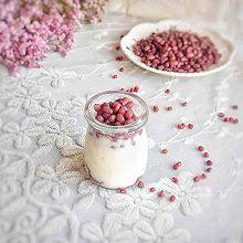 冰镇红豆蜜豆裸酸奶