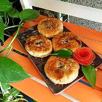 #超能量菰米试用之菰米馅饼#