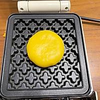 #肉食者联盟#红豆南瓜华夫饼的做法图解4
