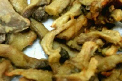 少油美味 干炸蘑菇