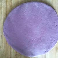 紫薯玫瑰花蛋糕的做法图解8