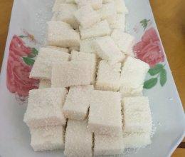 简易版椰子糕的做法