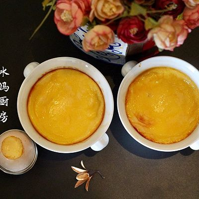 鸡蛋牛奶布丁