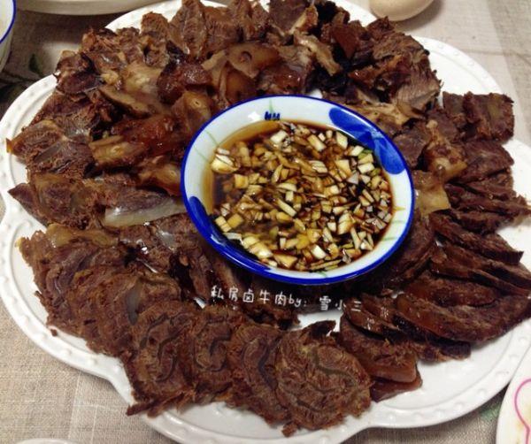大喜大牛肉粉试用之不加一滴油的〜私房卤牛肉的做法