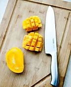 芒果牛奶西米露的做法图解1