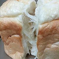 柔软拉丝的吐司-东菱面包机的做法图解14