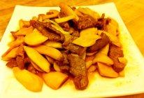 Winnie私房菜--杏鲍菇炒牛肉的做法