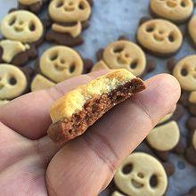 小熊巧克力奶香双色萌饼干