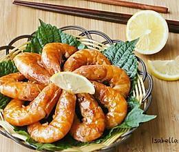 紫苏柠檬虾的做法