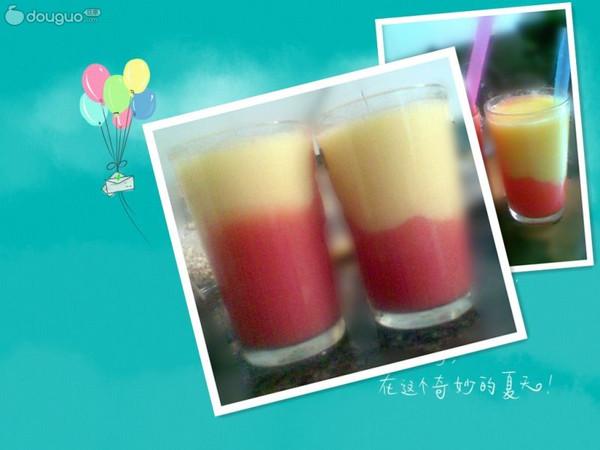 西瓜芒果汁的做法