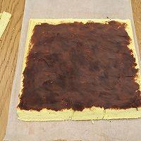 红豆沙戚风蛋糕卷的做法图解17