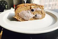 无奶油低脂健康珍珠奶茶爆浆蛋糕卷的做法