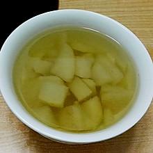 砂锅冰糖梨水